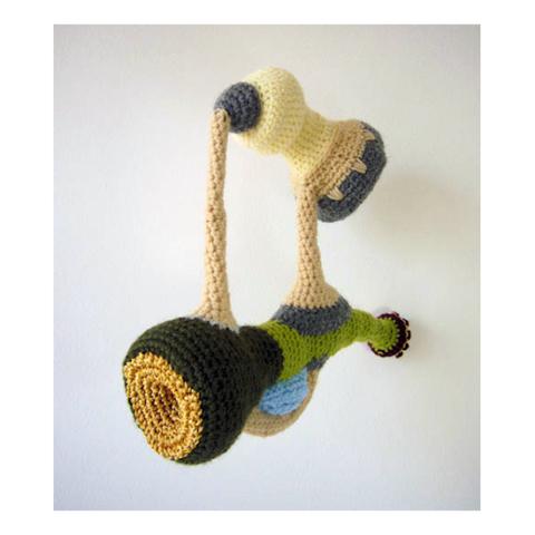 Textielkunst haakwerk