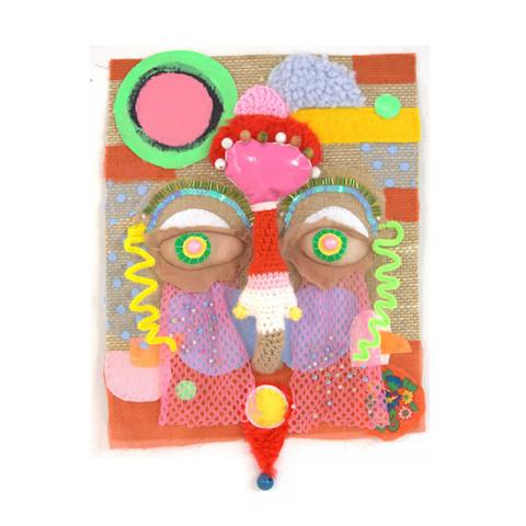 Masker textielkunst